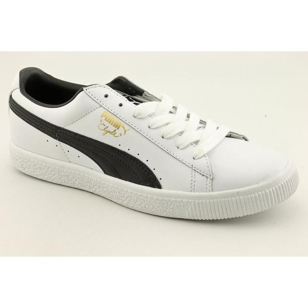 online store fb1a6 7864f Shop Puma Men's 'Clyde Leather FS' Leather Casual Shoes ...
