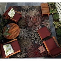 "Gelato Salerno Multicolor Indoor/Outdoor Area Rug - 8'1"" x 11'2"""