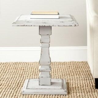 Safavieh Angela Antiqued Grey Side Table