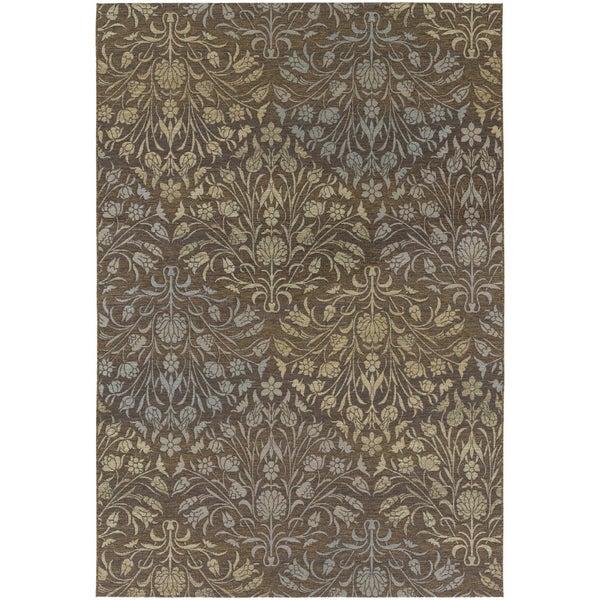 Couristan Dolce Coppola Brown-Beige Indoor/Outdoor Area Rug - 8'1 x 11'2