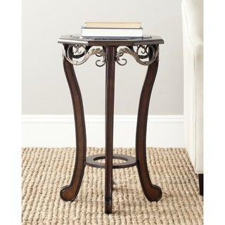 Safavieh Mildred Dark Brown Side Table