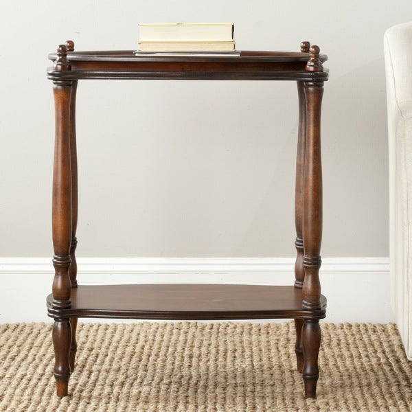 Safavieh Todd Dark Brown Side Table