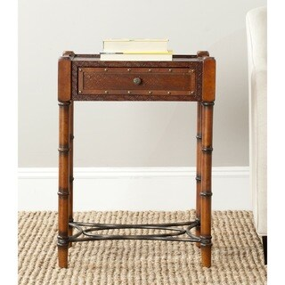 Safavieh Patrick Dark Brown Accent Table