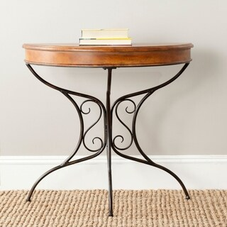 Safavieh Bertha Dark Brown Console Table