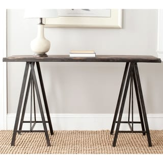 Safavieh Troy Dark Brown Console Table