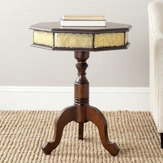 Safavieh Daphne Dark Brown Side Table