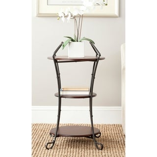 Safavieh Jessica Dark Brown Side Table