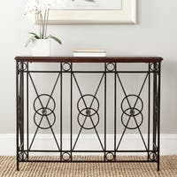 Safavieh Dustin Dark Brown Console Table
