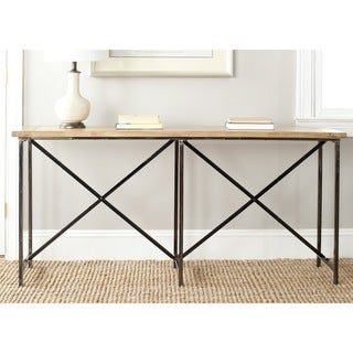 Safavieh Simon Natural Console Table