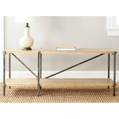 "Safavieh Theodore Natural Console Table - 55.1"" x 17"" x 22.2"""