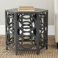 Safavieh Natanya Charcoal Grey Side Table
