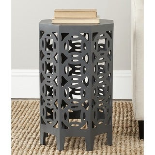 Safavieh Garion Charcoal Grey Side Table