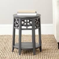 Safavieh Adela Charcoal Grey Side Table