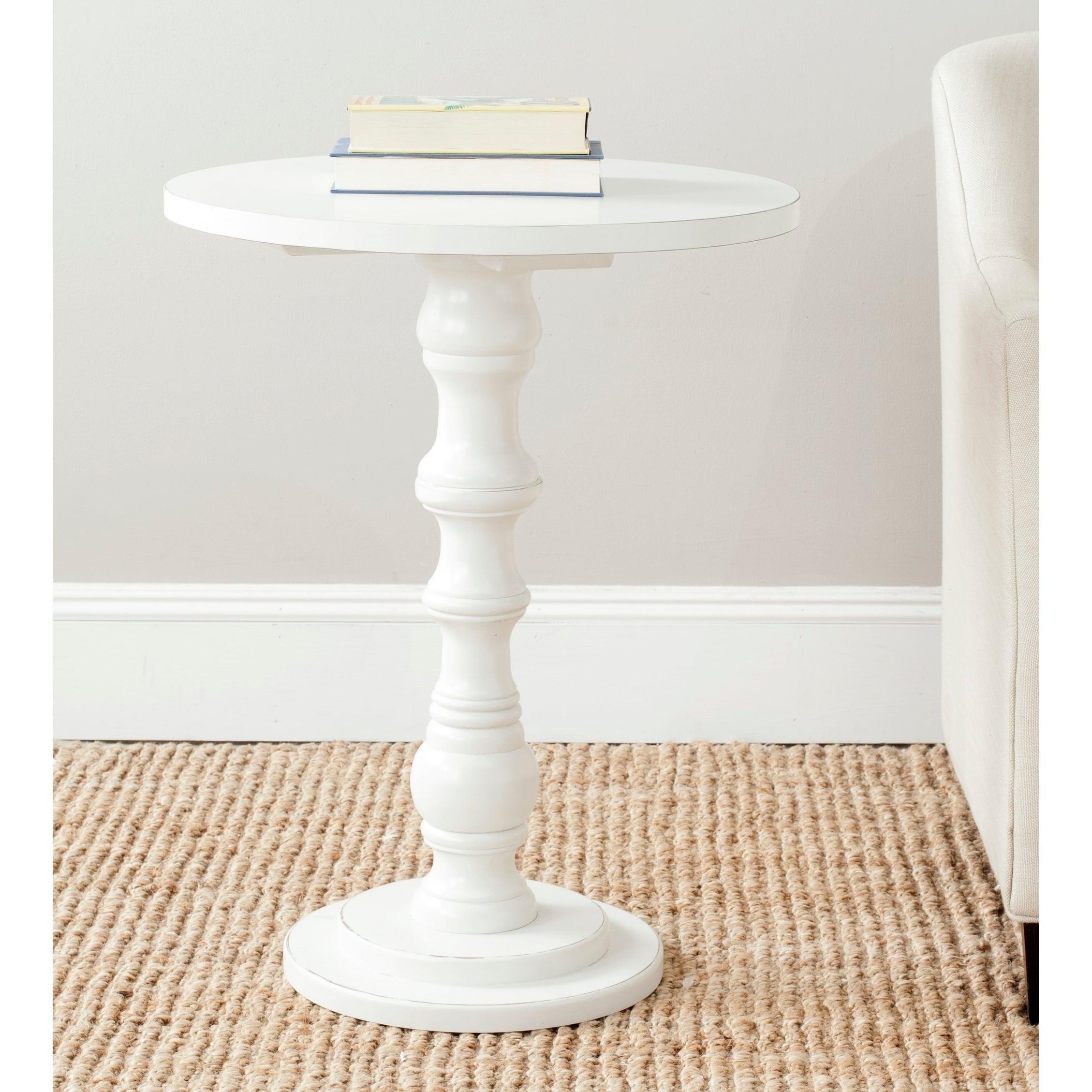 - Shop Safavieh Greta Off White Accent Table - 22