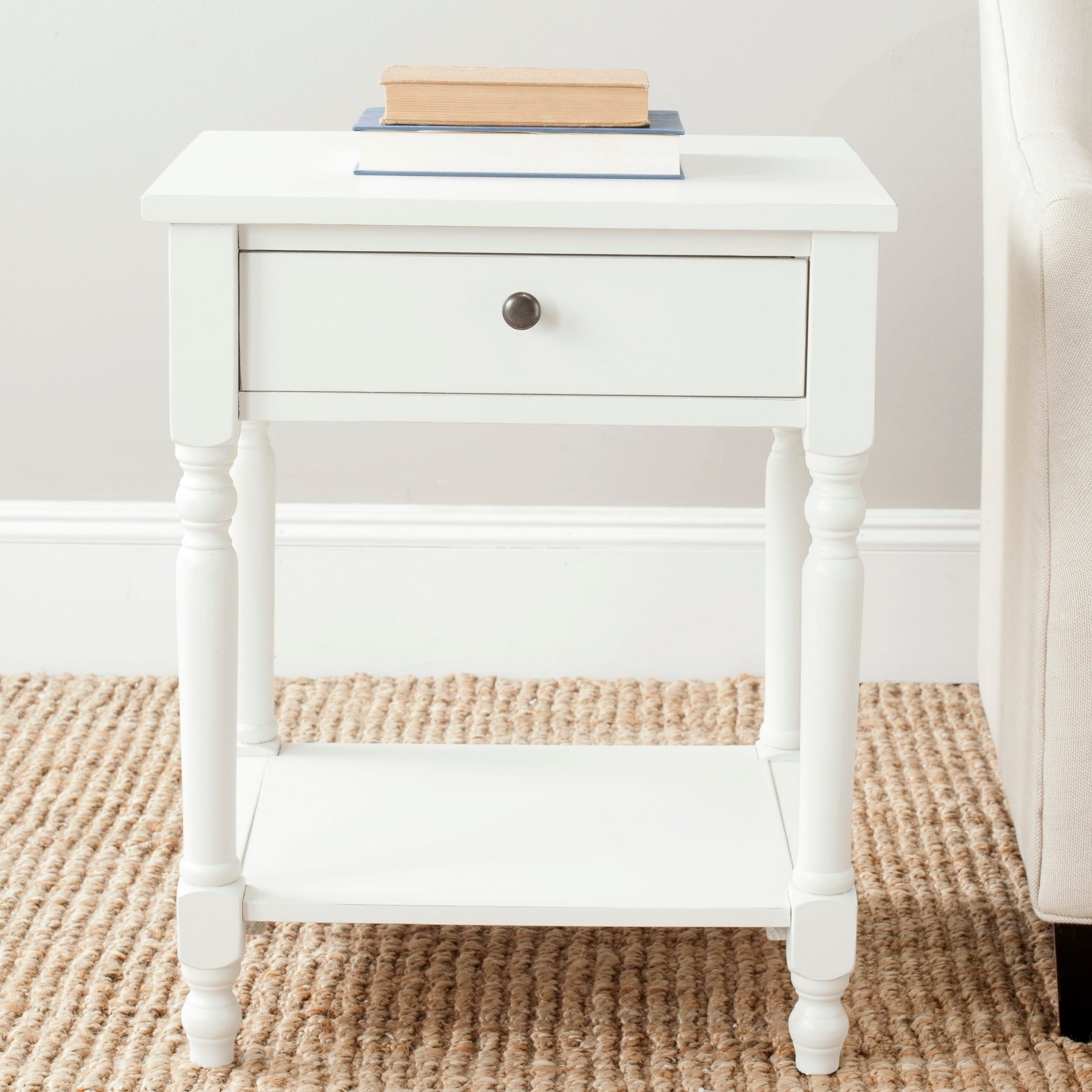 - Shop Safavieh Tami Off-white Accent Table - 20