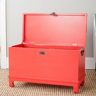 Safavieh Wesley Red Storage Chest