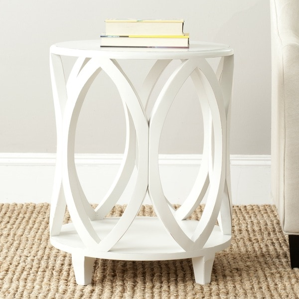 Superieur Safavieh Janika Off White Accent Table