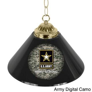 U.S. Army 14-inch Single-shade Bar Lamp (Option: Army digital camo/ army strong star)