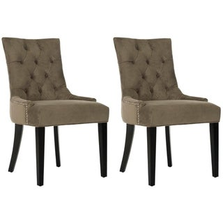 Safavieh En Vogue Dining Abby Grey Dining Chairs (Set of 2)