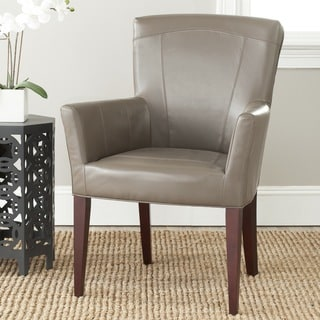 Safavieh En Vogue Dining Dale Grey Arm Chair
