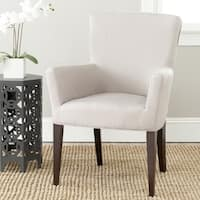Safavieh En Vogue Dining Dale Taupe Arm Chair