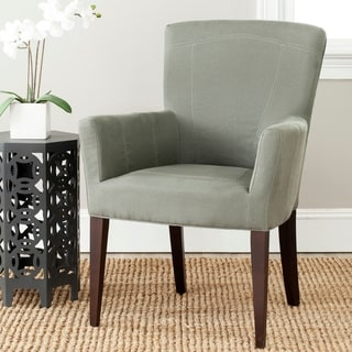 """Link to Safavieh Dining Dale Grey Arm Chair - 26.8"""" x 25.8"""" x 39.2"""" Similar Items in Dining Room & Bar Furniture"""