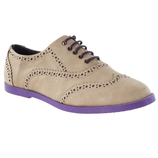 Riverberry Women's 'Isabella' Two-tone Oxford Shoes