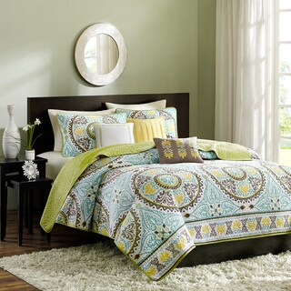 Madison Park Bali 6-piece Coverlet Set (2 options available)
