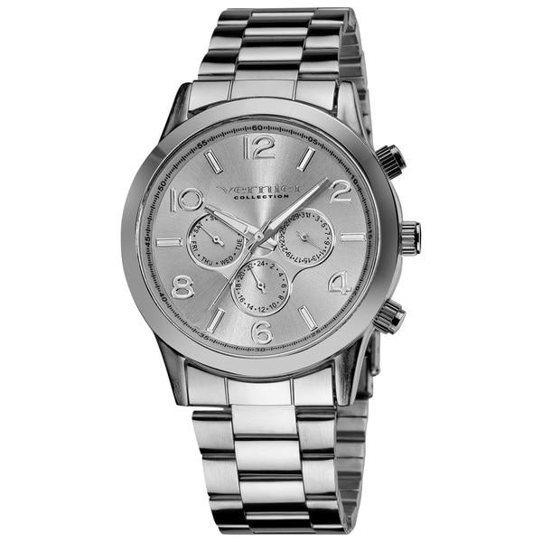 Vernier Ladies Oversized Multi-Function Chronograph Bracelet Watch