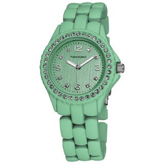 Vernier Ladies Soft Touch Pastel Bracelet Quartz Fashion Watch