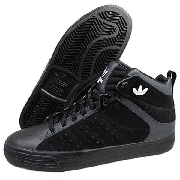Adidas Men's 'Freemont' Black/ Grey Athletic Shoes