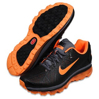 NIKE Men's 'Air Max+' 2011 Leather Running Shoes