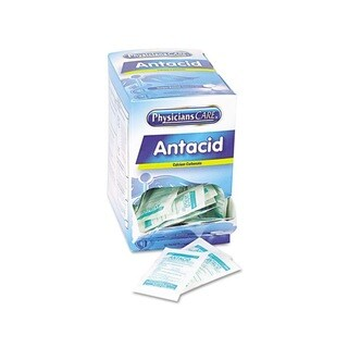 PhysiciansCare Antacid Calcium Carbonate Medication (50 Doses)