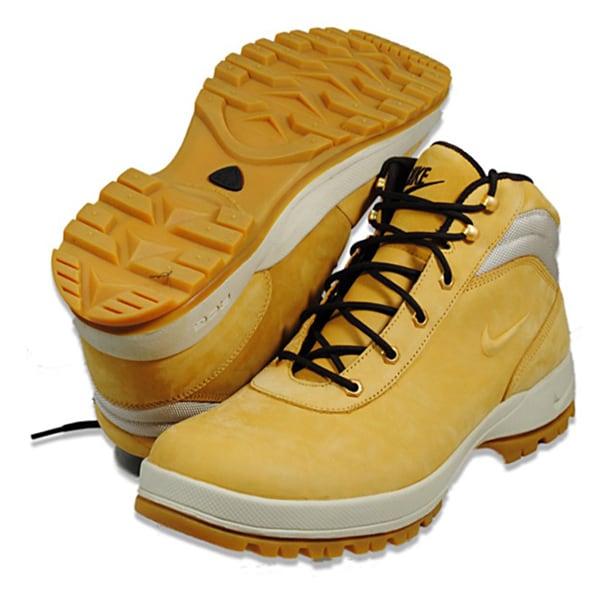Nike Men's 'Mandara' Wheat Beige Nubuck Leather Boots
