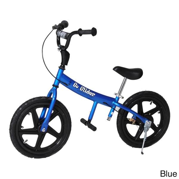 Glide Bikes Go Glider Kids Balance Training Bike with 16-inch Durable Tires