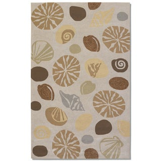 Couristan Outdoor Escape Barnegat Bay Sand Indoor/Outdoor Rug - 8' x 11'