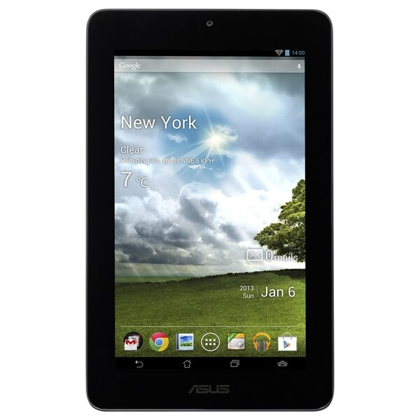 """Asus MeMO Pad ME172V-A1-WH 16 GB Tablet - 7"""" 128:75 Multi-touch Scree"""