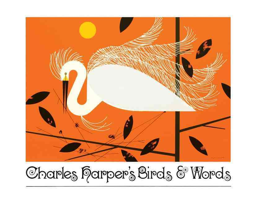 Charles Harper's Birds & Words (Hardcover)