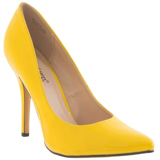 Riverberry Women's 'Music' Pointed Toe Patent Stiletto Pumps