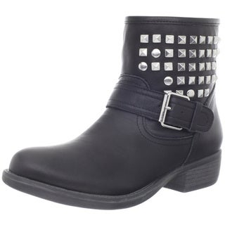 Steve Madden Women's 'Outtlaww' Leather Studded Ankle Boots