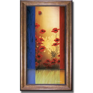 Don Li-Leger 'Painters Garden II' Framed Canvas