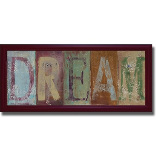 Patricia Pinto 'Dream' Framed Canvas Art