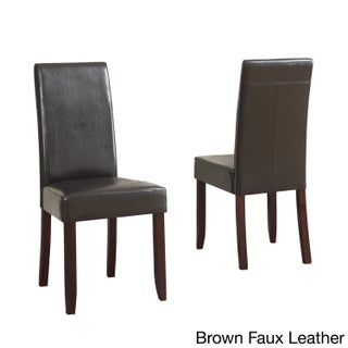 WYNDENHALL Normandy Parson Dining Chairs (Set of 2) (More options available)