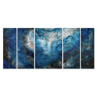 Megan Duncanson 'Moon Lake' Metal Wall Art