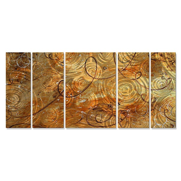 Megan Duncanson 'Marble thoughts' Metal Wall Hanging