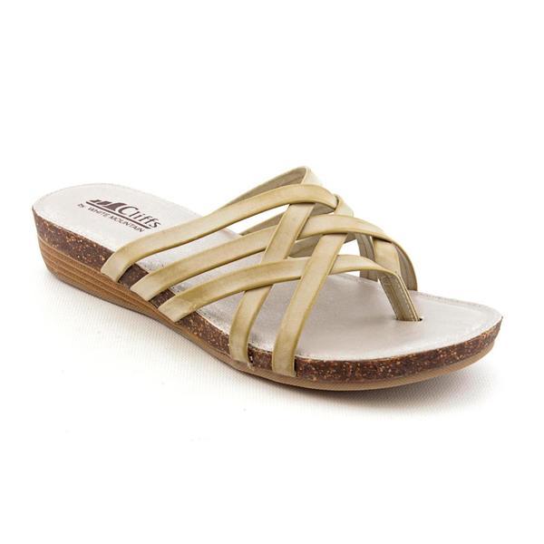 White Mountain Women's 'Endear' Man-Made Sandals