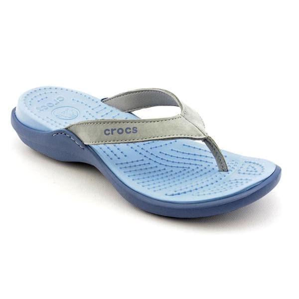 Crocs Women's 'Capri IV' Synthetic Sandals (Size 10)