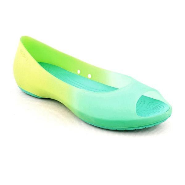 Crocs Women's 'Carliana' Synthetic Casual Shoes - Wide
