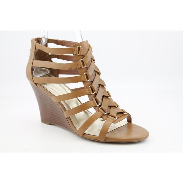 INC International Concepts Women's 'Dellin' Leather Sandals