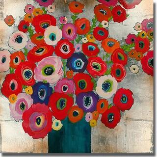 Liz Jardine 'Cotton Candy' Canvas Art